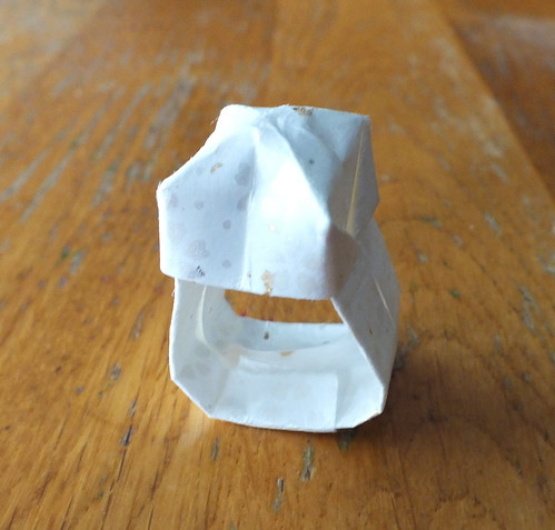 Week two: Origami ring