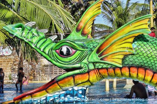 faltan 240 días para el mundial: Beach Park de Fortaleza