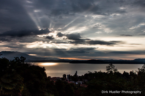 Sunrise at Lago Maggiore by Dirk Mueller Photography