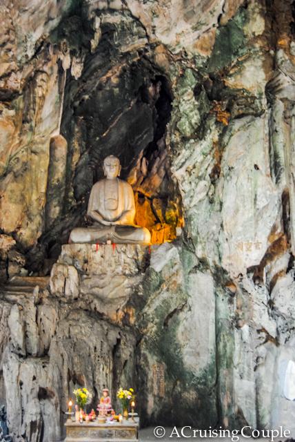 Huyen Khong Buddhist grotto Vietnam