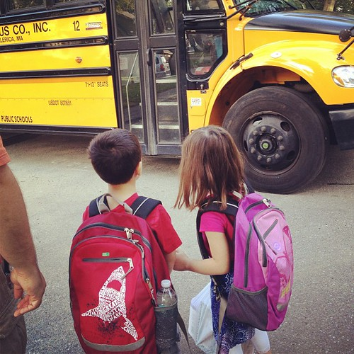 Seriously, how are my kids old enough to ride the BUS?