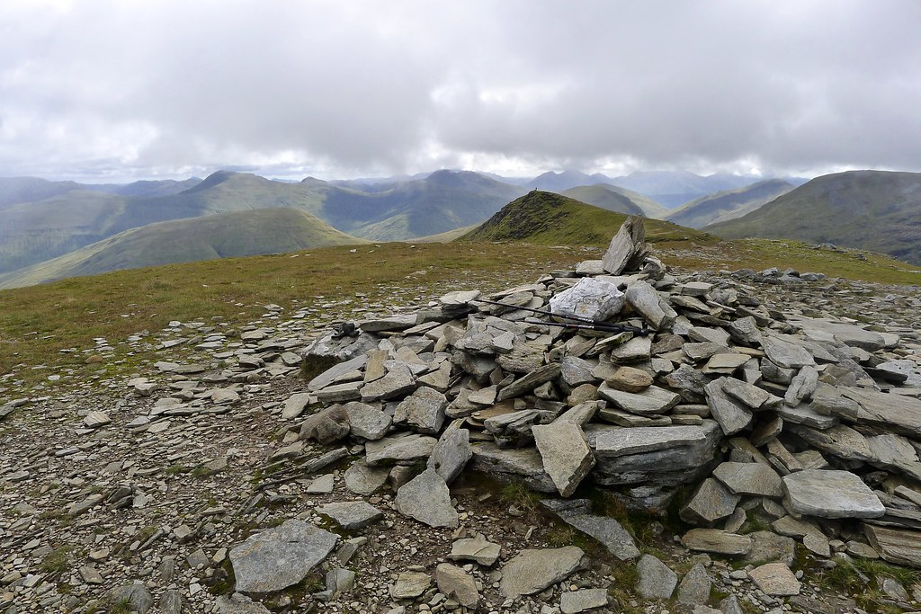 Summit of Beinn an Dothaid
