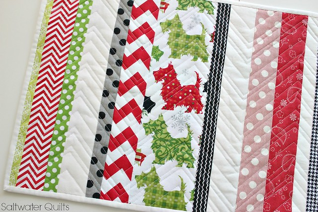 christmas reversible runner