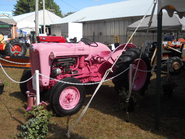 pink tractor love
