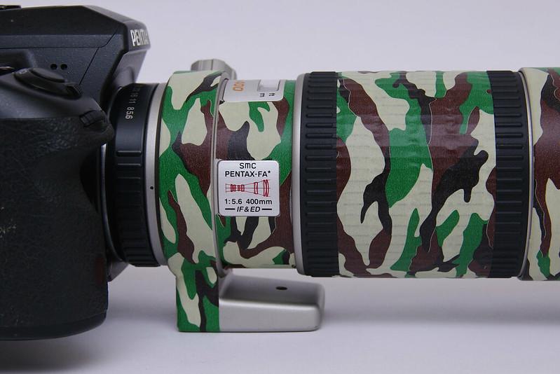 SMC FA 400mm F5.6  評測與實拍