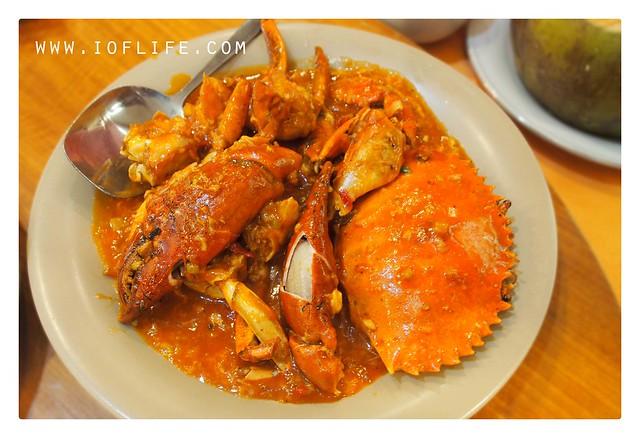 Kepiting saus padang surya makassar