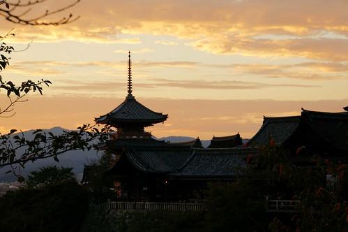Kiyomizu-dera Sunset