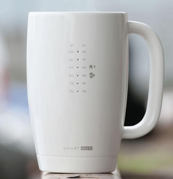 最佳饮用温度 Smart Mug智能杯