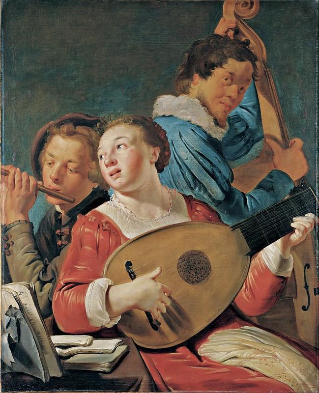 Pieter Fransz de Grebber - Musicians