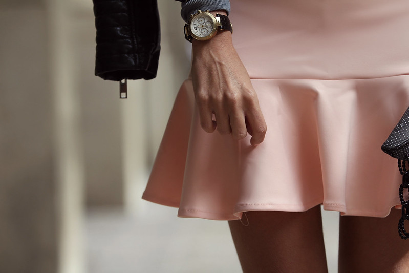 style lover pink skirt VII