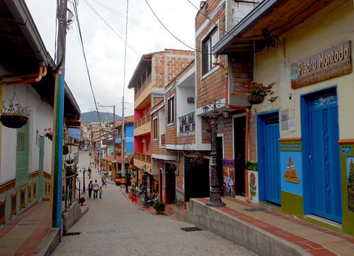 Guatapé, Colombia street