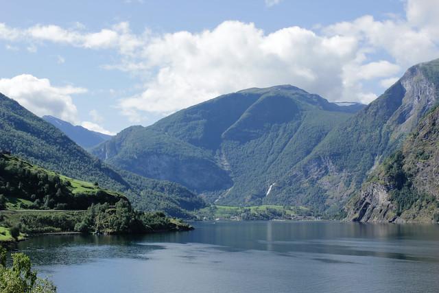 Flåm, Aurlandsfjorden