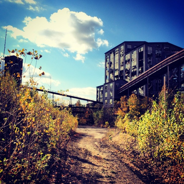 I can't believe this old coal breaker site is open to the public! Go preservation efforts!
