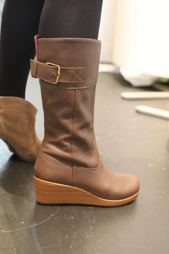 アレイ レザー ブーツ ウィメンa-leigh leather boot w