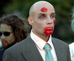 The best dressed zombie in history.