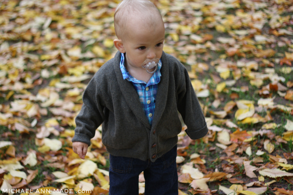 Michael Ann Made || KCW - Little Man Cardigan