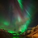 Aurora Borealis-dressed for nightparty by John A.Hemmingsen
