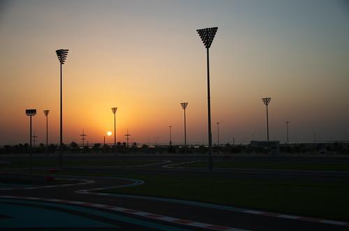 sunset f1 abudhabi formulaone formula1 formulaonecircuit d7000 middleeastsunset abudhabicircuit