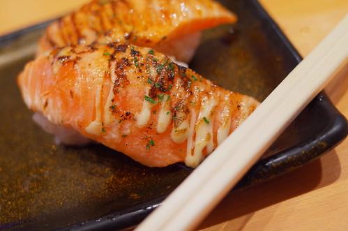 garlic roast salmon