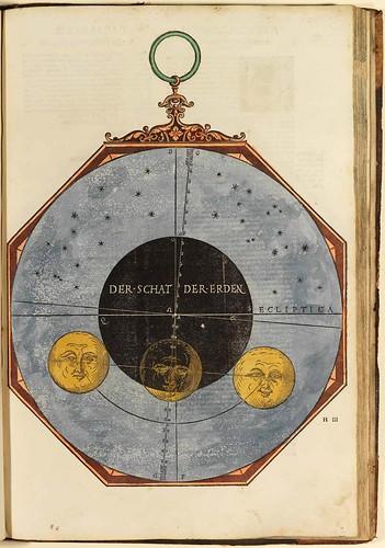 010-Astronomicum Caesareum-1540- Petrus Apianus -Staatsblibliothek Bamberg