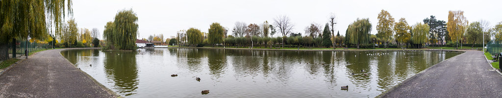 Tongeren lake panorama