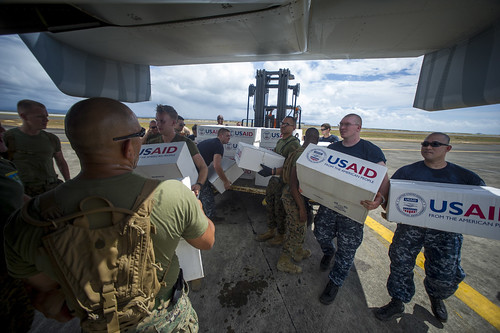 CAMP AGUINALDO, MANILA - The Armed Forces of the Philippines and Joint Task Force 505 welcome the amphibious ships USS Ashland (LSD 48) and USS Germantown (LSD 42), in the concerted efforts to extend relief efforts to typhoon victims in Visayas.