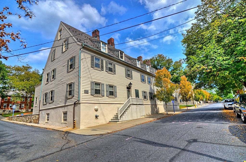 Gemeinhaus-Lewis David De Schweinitz Residence - Bethlehem PA