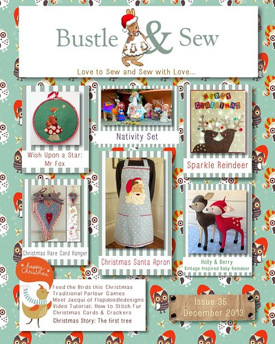 Bustle & Sew Magazine Issue 35: December 2013