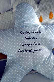 Vito's little star pillow