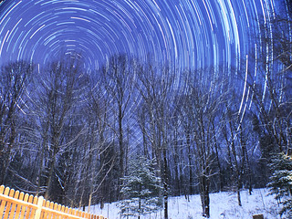 December 10, 2013 Star Trails