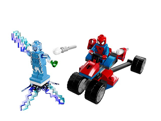 LEGO Super Heroes Marvel 76014 - Spider-Trike vs. Electro
