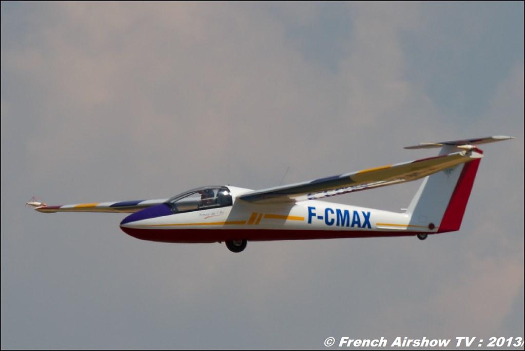 Planeur B4 Pilatus de Denis HARTMANN au Free Flight World Masters Valence 2013, Meeting aerien 2013