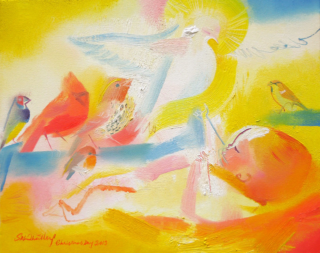 Dawn Chorus of Christ - Christmas Day 2013 by Stephen B Whatley
