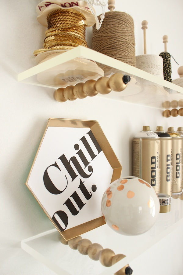 Fabric Paper Glue | Inspirational Hex Plaque