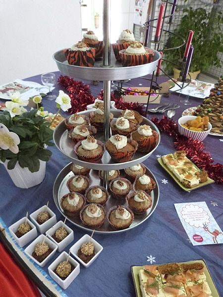 cupcakes aux noix