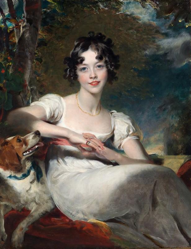 Sir Thomas Lawrence - Lady Maria Conyngham (c.1824)