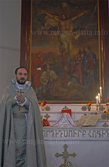 Pilgraimage at the Armenian Church, Chinchura (Chuchura)