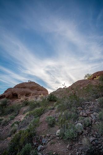arizona sky mountain phoenix nikon desert wideangle papagopark papagoparkwestparktrailhead