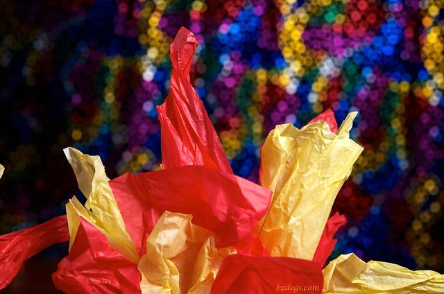 Tissue Flames