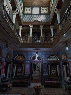 Exquisite Artwork in Maison du Gouverneur, Kairouan, Tunisia - December 2013