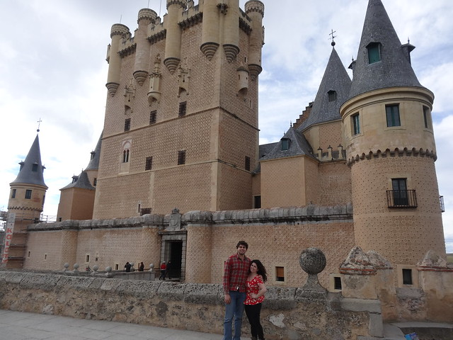 Deena and Me at Alcazar