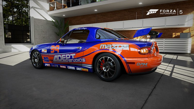 Steyn Racing Mazda Miata Side