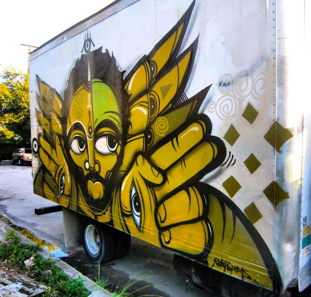 RAS TERMS, 7 UP, PTV, BDS, BSK, Street Art, Graffiti, Miami,