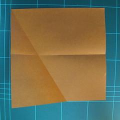 วิธีการพับกระดาษเป็นรูปกบ (แบบโคลัมเบี้ยน) (Origami Frog) 005
