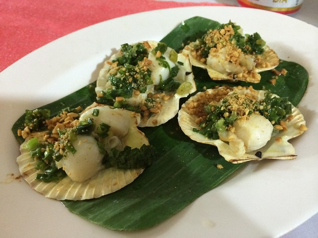 Grilled scallops - Hai Lua Food Countryside