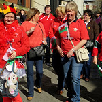 Welsh Supporters: Wales vs Scotland - Cardiff 2014