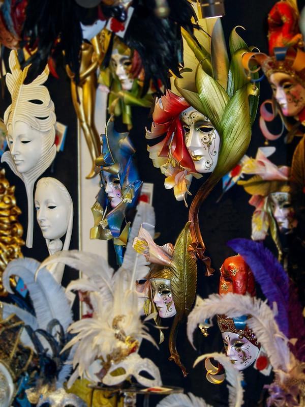 Mascaras Venecianas 13231241234_97aed2b81e_c