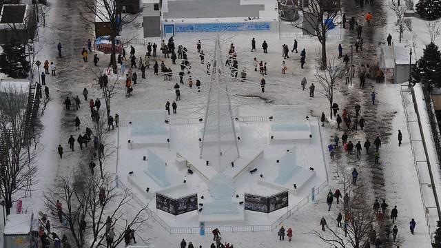 Sapporo Snow Festival, Odori Park, Hokkaido