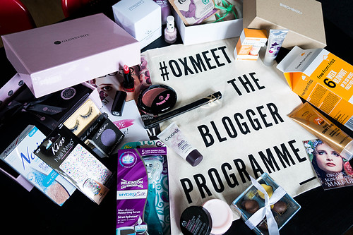 #OxMeet - The Blogger Programme: Goody Bag | www.latenightnonsense.com