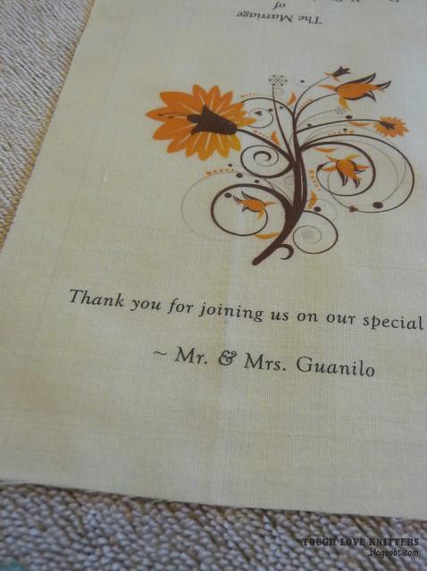 Wedding Handkerchief - Multip Paper (3)